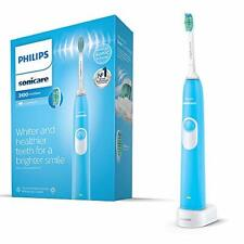 Philips Sonicare DailyClean 3100 Electric Toothbrush, Blue ProResults Brush Head