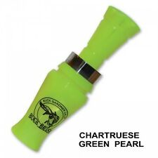 Buck Gardner Calls BUCK BRUSH Chartreuse Green Pearl Duck Call