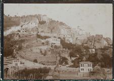 France, Environs de Cannes, Vue des maisons, ca.1900, Vintage citrate print Vint