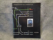 Consolidated Rail Corporation 1987 Annual Report Booklet Magazine
