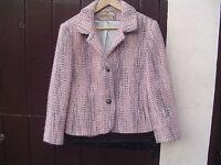 Henry White ( Ireland ) Jacket 100% Wool Size 10