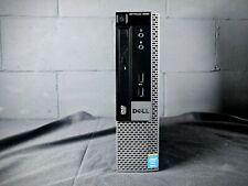 Dell OptiPlex 9020 i5 4670S 3.1GHz Quad Core PC USFF 8GB 320GB Computer Win 10