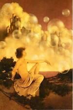 "VINTAGE Maxfield Parrish Poster Print ""CASTELLI D'ARIA"""