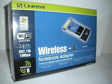 Cisco-Linksys WPC11 Wireless-B Notebook Adapter