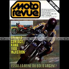 MOTO REVUE N°2479 KAWASAKI GPZ 1100 HONDA CB 900 BOL D'OR FARGEIX YAMAHA YZ 1980