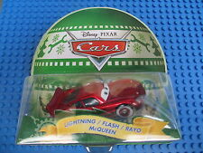 Disney Pixar Cars 2 Holiday Lightning Mcqueen Green Bolt Diecast Xmas Gift