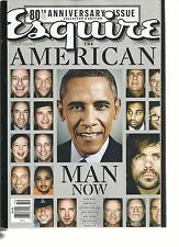 ESQUIRE, MAN AT HIS BEST, OCTOBER, 2013 ( 80th ANNIVERSARY ISSUE ) AMERICAN MAN