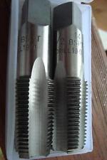 BSPT 1/2-14TPI Starter & Plug Taps Tapered Thread BRITISH STANDARD PIPE TAPER