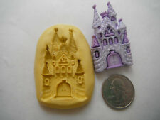 Princess Fairy Castle Silicone Mold-for polymer clay, wax, fondant, soap, etc.