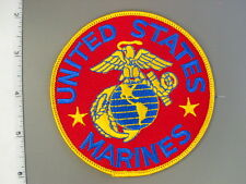 "1996 United States Marines, 4"" dia., red jacket patch, brand new never issue"