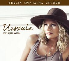 = URSZULA - DZIS JUZ WIEM /special edition CD + DVD videoclips //sealed digipack