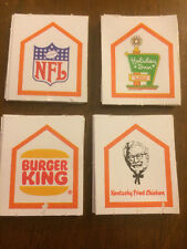 1979 The American Dream Board Game Replacement Parts 27 Franchise Chips (Cards)