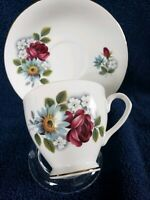 Elizabethan Teacup & Saucer. Fine Bone China From England