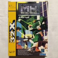 Metal Head Mega Drive MD Sega Genesis Used Japan Import Boxed Tested Working