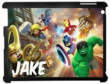 Personalised Lego Marvel Kids Ipad case 2/3/4 & Mini 1/2/3 Mini 4/5 2019