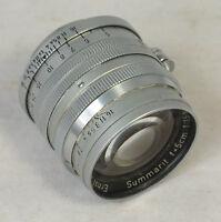 Leica Leitz Summarit 5cm f/1.5 Screw Mount LTM Lens for Parts / Repair