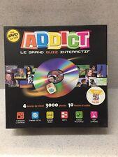 JEUX DE SOCIETE ADDICT AVEC DVD LE GRAND QUIZ INTERRACTIF BON ETAT