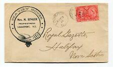 Canada NS Nova Scotia - Lockeport 1897 - Sea View House - Jubilee Advertising