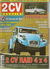 2CV MAGAZINE 24 CITROEN 2 CV 4X4 RAID CITROEN 2CV BATEAU 1965 Les 2CV SLOUGH