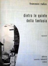 DIETRO LE QUINTE DELLA FANTASIA - CON AUTOGRAFO DATATO 22/6/59