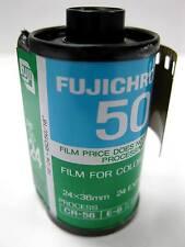 8 Rolls Vintage Outdated Fujichrome RF DX 50 Color slide film 35mm 24 exp Fuji