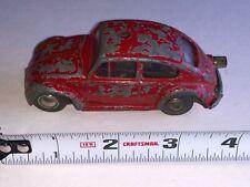 Vintage Schuco 1046 Red Volkswagen Bug Micro Racer
