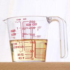 Chef 250ml Transparent Measuring Cups Acid-corrosion  Proof 3 Graduations Resin