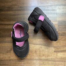 Cat & Jack Toddler Girl's Comfort Slip On Shoes Flat Black Size 5