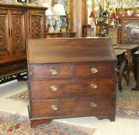 American Federal Antique Oak  Front Drop Desk