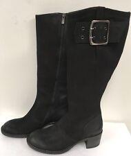 Paul Green Women's Black Optimist Leather Boots - Size 3 UK