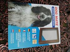 DOG MATE MEDIUM DOG DOOR IN BROWN
