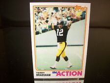 Terry Bradshaw Topps 1982 Card #205 Pittburgh Steelers NFL Football