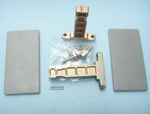 DTC Drawer Front Fixing Bracket kit for Doublewall Kitchen Drawers.Screw-on.Zinc