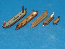 1 : 1250  5 antike Schiffe