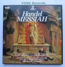 STU 70921/2/3 - HANDEL - Messiah LEPPARD English CO - Ex Con 3 LP Record Box Set