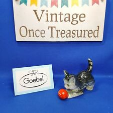 Goebel Cat Kitten With Ball - Rare Early 364 Size 4/0 TMK 'Foreign' Mark - VGC