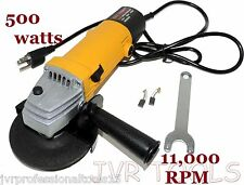 """New 4-1/2"""" x 7/8""""Angle Grinder Cut Off Tool Angle Grinder 11,000 RPM 500W Grind"""