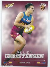 2016 Select Footy Stars Base Card (19) Allen CHRISTENSEN Brisbane