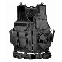 Mens Mesh Breathable Tactical Vest Outdoor Game Army Combat Waistcoat mm00