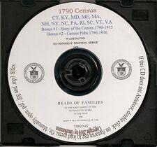 1790 Census CD - Complete