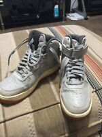 Nike Air Force 1 High Men's Size  8 Gray 654440-008