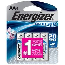 Energizer Ultimate Lithium AA Batteries (8-Pack)  ~  Exp 2037
