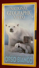 CS7> FILM VHS NATIONAL GEOGRAPHIC VIDEO ORSO BIANCO - SIGILLATA