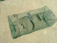 SURVIVAL TRAP MINNOW FISH CRAB CRAWFISH SHRIMP FISHING NET CAGE  (USA SELLER)