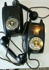 Vintage rotary dial wall phones ###LOT OF 2###
