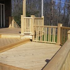 145 x 22mm Smooth Siberian Larch Decking Boards/Patio/ Garden/Timber