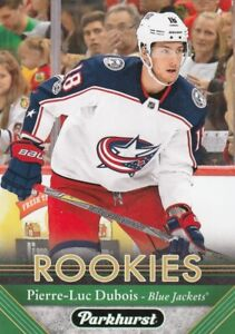 PIERRE-LUC DUBOIS NO:295 ROOKIE in PARKHURST  2017-18   LOT63