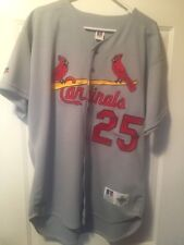 mark mcgwire autographed jersey Rawlings Authentic