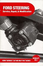 EARLY FORD STEERING SERVICE AND REPAIR BOOK FLATHEAD V8 VINTAGE RAT ROD T M MOD