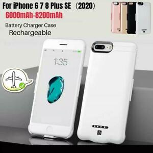 8200mAh Battery Charger Case For iPhone 6 7 8 Plus SE Power Bank Charging Cover